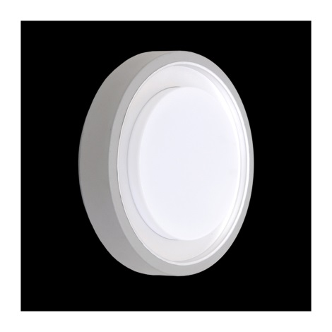 Āra griestu gaismeklis ORIGO 1xE27/60W sudraba IP54
