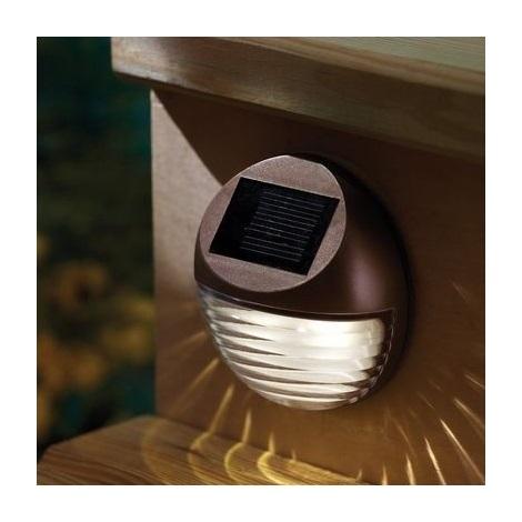 Āra saules enerģijas LED apgaismojums 2xLED/0,12W/2xAA 6500 K