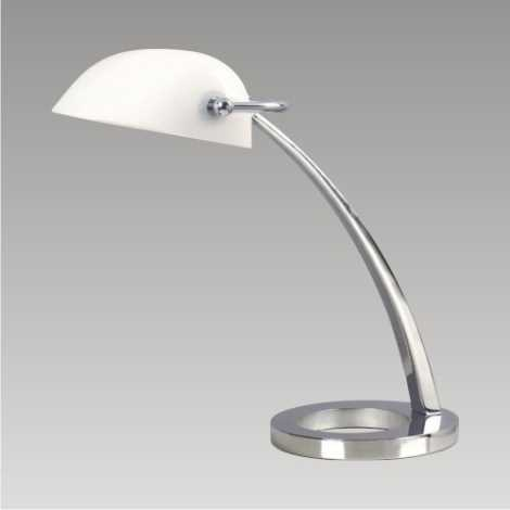 DALLAS Galda lampa 1xE27/60W balts