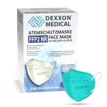 DEXXON MEDICAL Respirators FFP2 NR Azūra 1 gab