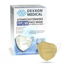 DEXXON MEDICAL Respirators FFP2 NR beišs 1gab