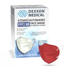 DEXXON MEDICAL Respirators FFP2 NR Sarkans 1 gab