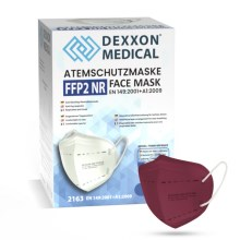 DEXXON MEDICAL Respirators FFP2 NR violets 1gab