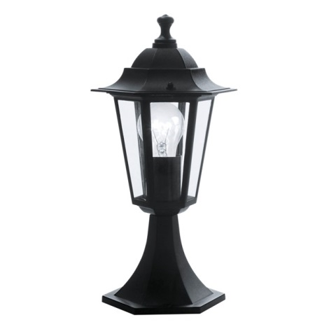 EGLO 22472 - Āra lampa LATERNA 4 1xE27/60W melns