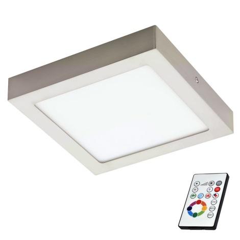 Eglo 78768 - LED RGB Aptumšojams griestu gaismeklis TINUS 1xLED/6W/230V