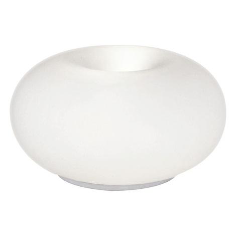 EGLO 86818 - Galda lampa OPTICA 2xE27/60W balta  opāla stikls