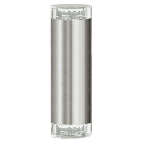 EGLO 87112 - Āra sienas gaismeklis RIGA LED 2xGU10/LED/1.28W
