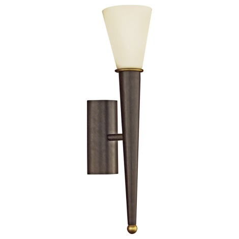 EGLO 87538 - Sienas gaismeklis MARA 1xE14/60W antīki brūna