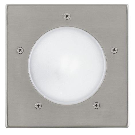 EGLO 88063 - Āra pagalma gaismeklis IP67 RIGA 3 1xE27/15W