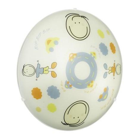 EGLO 88972 - Bērnu griestu gaismeklis JUNIOR 2  2xE27/60W krāsains