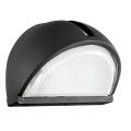 EGLO 89767 - Āra sienas gaismeklis ONJA 1xE27/60W melns