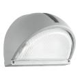 EGLO 89769 - Āra sienas gaismeklis ONJA 1xE27/60W sudraba IP44