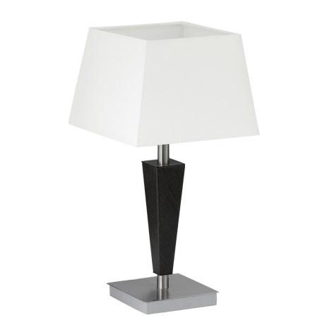 EGLO 90456 - lampa Galda RAINA 1xE14/60W antīka brūna/balta