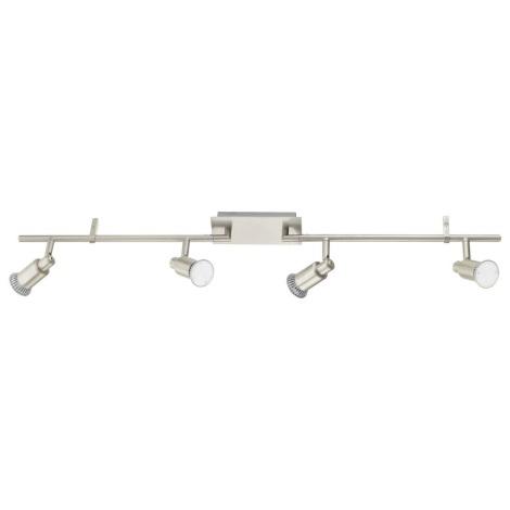 EGLO 90826 - LED lampa ERIDAN 4xGU10/5W LED