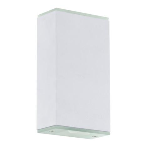 EGLO 91826 - LED sienas gaismeklis ABIDA 2xLED/4,76W balts