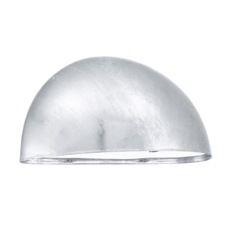 EGLO - Āra sienas gaismeklis 1xE27/40W cinkots tērauds