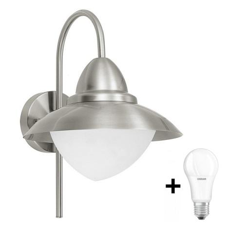 EGLO - LED Āra sienas gaismeklis 1xE27/8,5W IP44