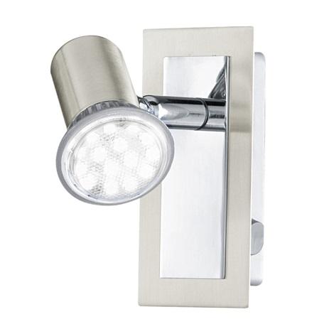 EGLO - Sienas griestu gaismeklis 1xGU10/LED/3W