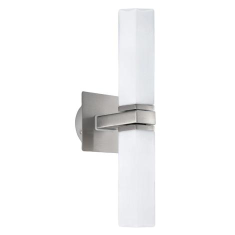 EGLO - Sienas vannas istabas gaismeklis 2xG9/40W  opāla stikls IP44