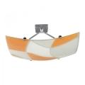 Griestu gaismeklis ASPIS 2xE27/100W/230V balts/oranžs