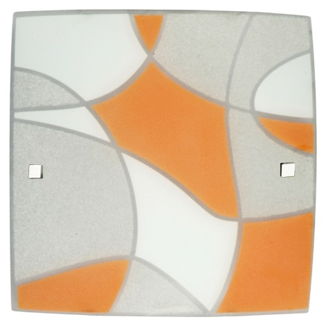 Griestu gaismeklis ASPIS 3xE27 / 60W oranžs