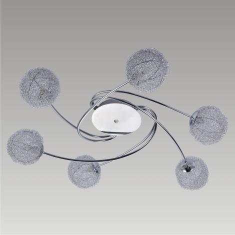 Griestu gaismeklis MELISSA 6xG9/40W/230V