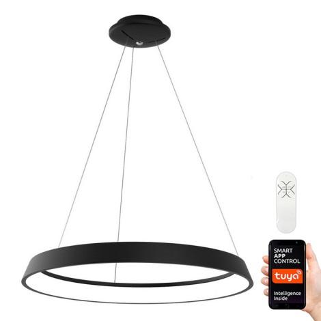 Immax NEO - LED Aptumšojama lustra uz auklas LIMITADO LED/39W/230V 60 cm melna Tuya