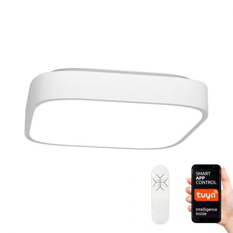 Immax NEO - LED Griestu gaismeklis ar tālvadības pulti RECUADRO LED/56W/230V Tuya