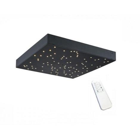 LED Aptumšojams griestu gaismeklis 1xLED/8W/230V + Tālvadības pults