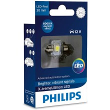 LED Auto spuldze Philips X-TREME ultinon 129416000KX1 LED SV8.5–8/0,8W/12V 6000K