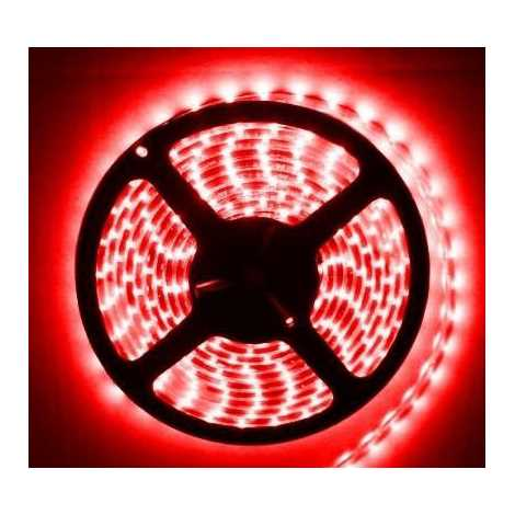 LED josla ūdensizturīga 5m IP65 sarkana