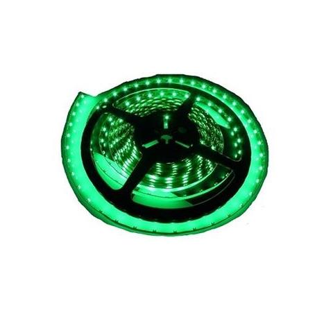 LED josla  ūdensnecaurlaidīgs 5m IP65 zaļa
