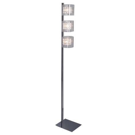 Luxera 46005 - Grīdas lampa TOGO 3xG9/40W/230V