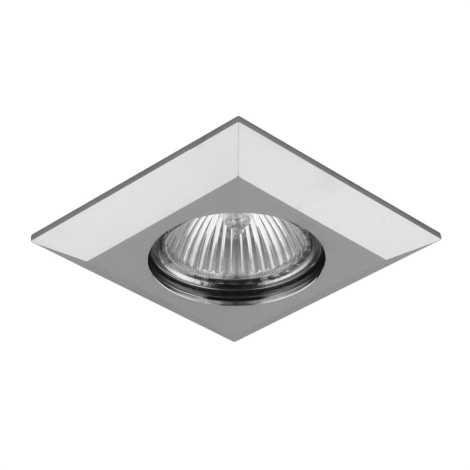 Luxera 71022 - Padziļinājuma gaismeklis ELEGANT 1xGU10/50W/230V