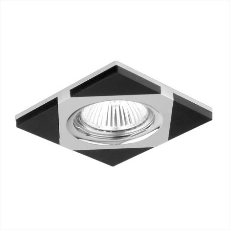 Luxera 71023 - Padziļinājuma gaismeklis ELEGANT 1xGU10/50W/230V