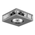 Luxera 71027 - Padziļinājuma gaismeklis ELEGANT 1xGU10/50W/230V