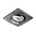 Luxera 71029 - Padziļinājuma gaismeklis ELEGANT 1xGU10/50W/230V