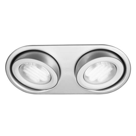 Massive 59602/48/10 - Vannas istabas piekaramo griestu gaismeklis MONO 2xGX53/9W/230V alumīnija