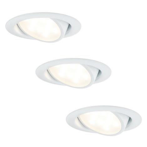 Paulmann 92091 - KOMPLEKTS 3x LED Iegremdēts gaismeklis 3xLED/4,2W/230V