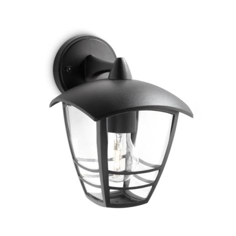 Philips 15381/30/16 - Āra sienas gaismeklis MYGARDEN CREEK 1xE27/60W/230V