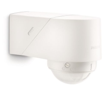 Philips 17266/31/16 - Āra kustību sensors MYGARDEN BLUESKY balts IP44