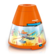 Philips 71769/53/16 - LED  Bērnu projektors DISNEY PLANES LED/0,1W/3xAA