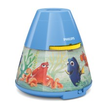 Philips 71769/90/16 - LED  Bērnu projektors DISNEY DORY LED/0,1W/3xAAA