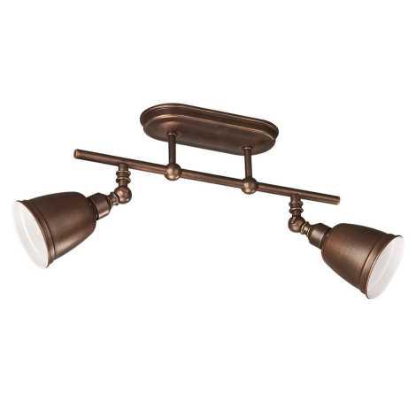 Philips Massive 52132/43/10 - Lampa PETROL 2xE14/8W