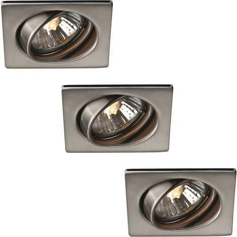 Philips Massive 59323/17/10 - KOMPLEKTS 3x Vannas istaba piekaramo griestu gaismeklis 3xGU10/50W/230V