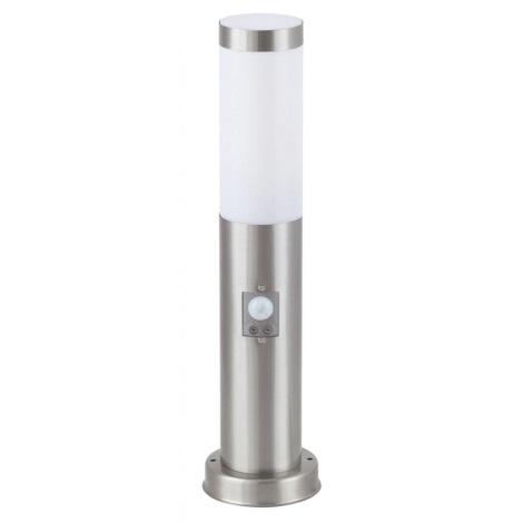 Rabalux 8267 - Āra lampa ar sensoru INOX TORCH 1xE27/25W