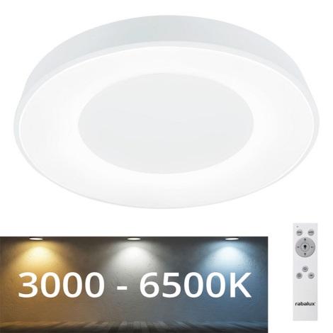 Rabalux - LED Aptumšojams griestu gaismeklis LED/38W/230V balts+ TP 3000-6500K