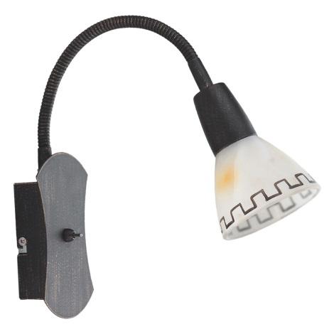 Sienas gaismeklis AZTEC krk 1xE14/40W
