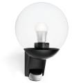 STEINEL 005535 - Āra Sienas Apgaismojums ar sensoru L585S 1xE27/60W melns