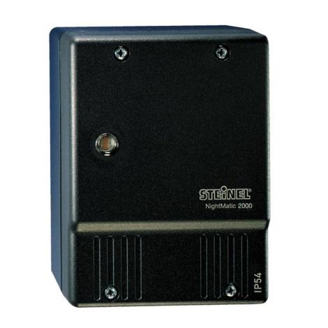 STEINEL 550318 - (Himaljiešu) Sāls lampa NightMatic 2000 melna